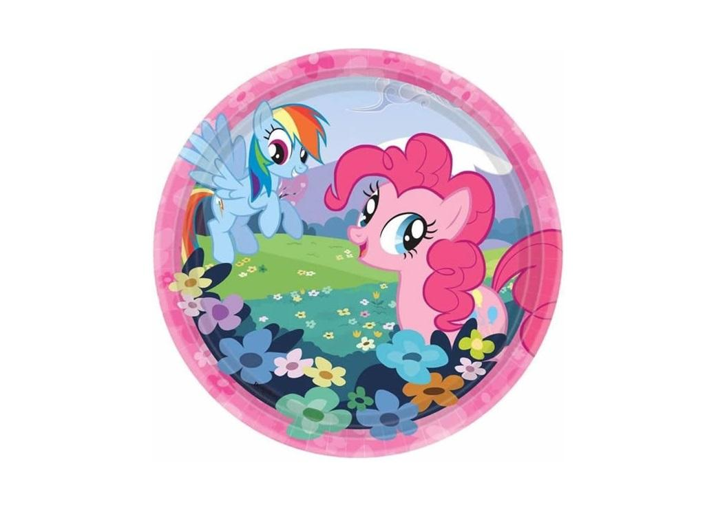 My Little Pony Lunch Plates