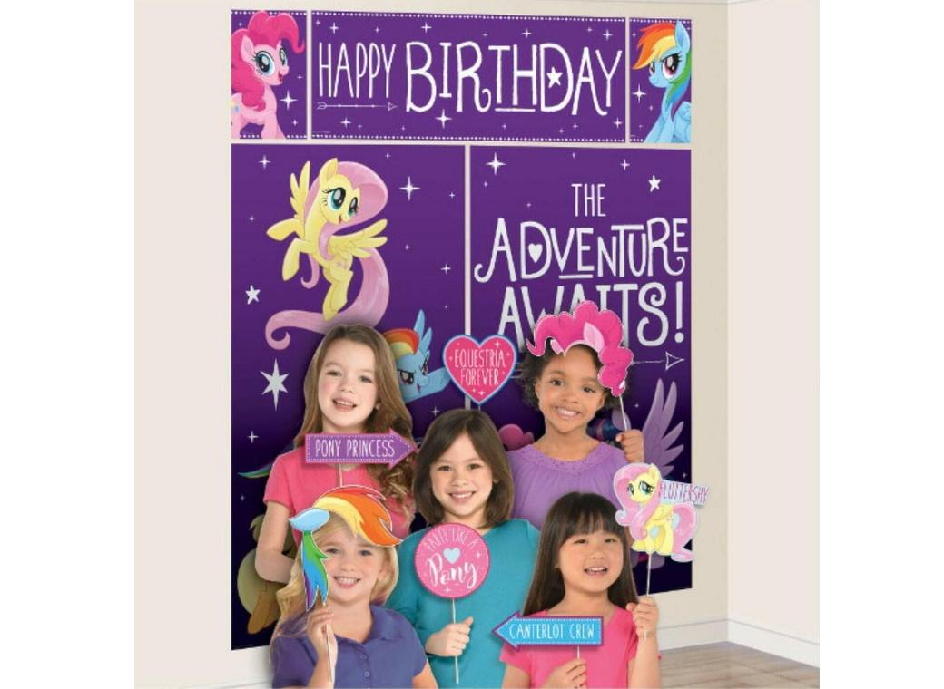 My Little Pony Scene Setter with Photo Props