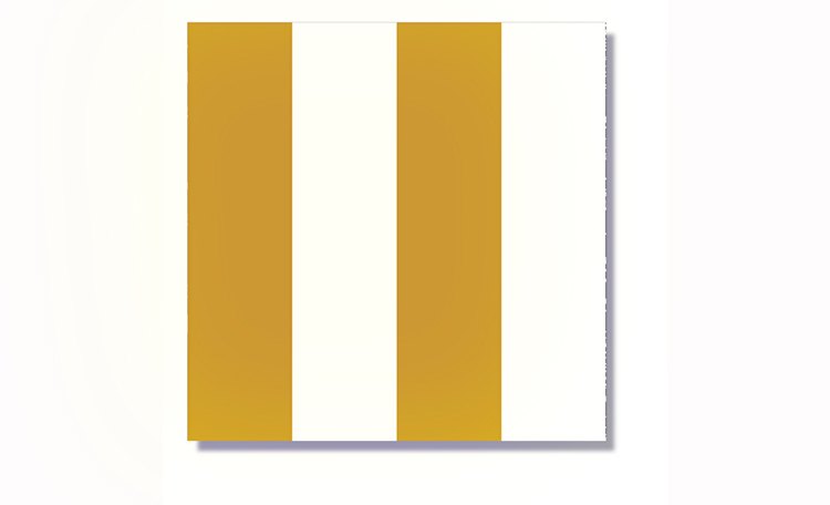 Gold Wide Stripe Napkins - 20pk