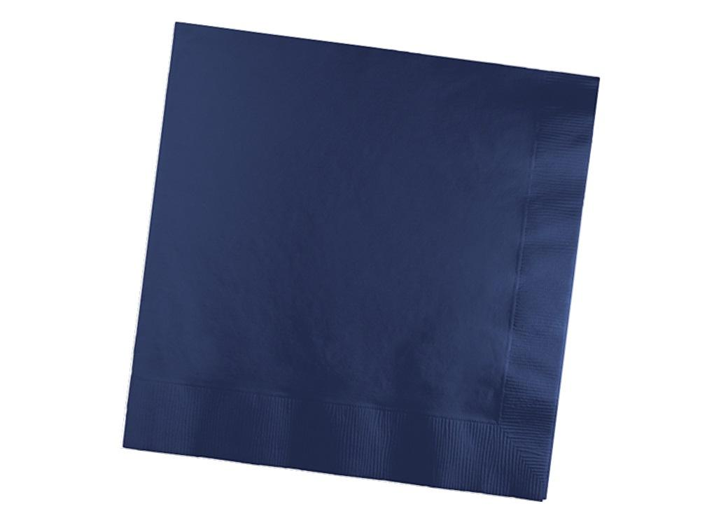 Navy Blue Lunch Napkins 50pk