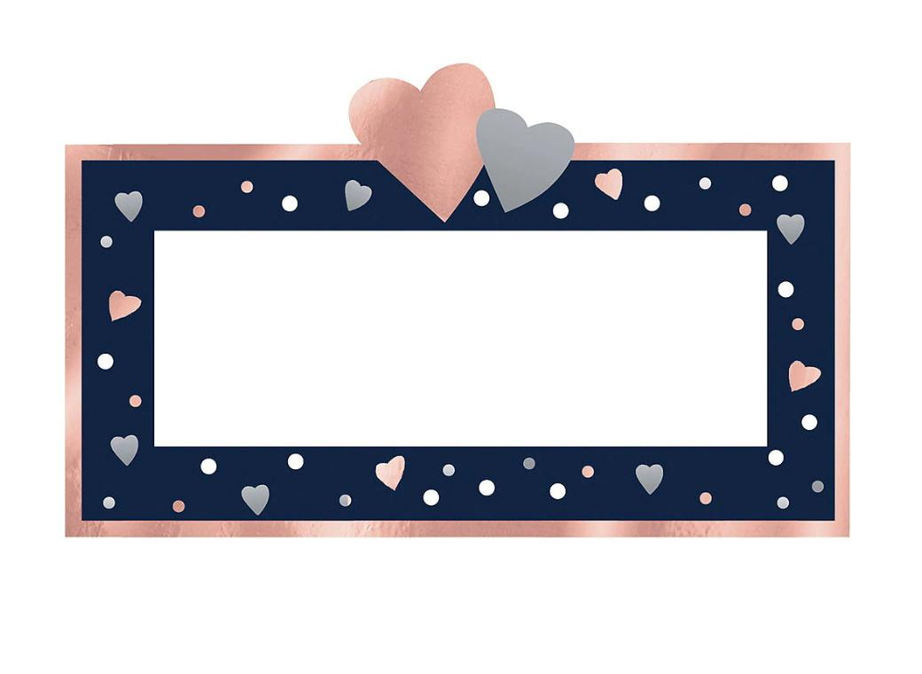 Navy Love Place Cards 25pk