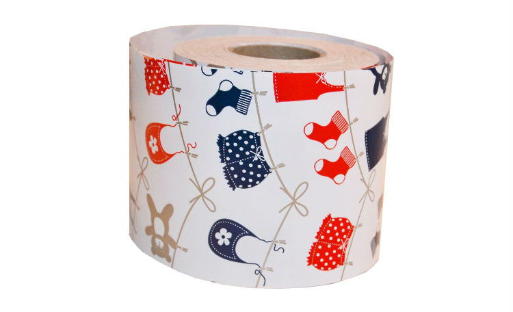 Navy & Red Clothesline - Mini Table Runner
