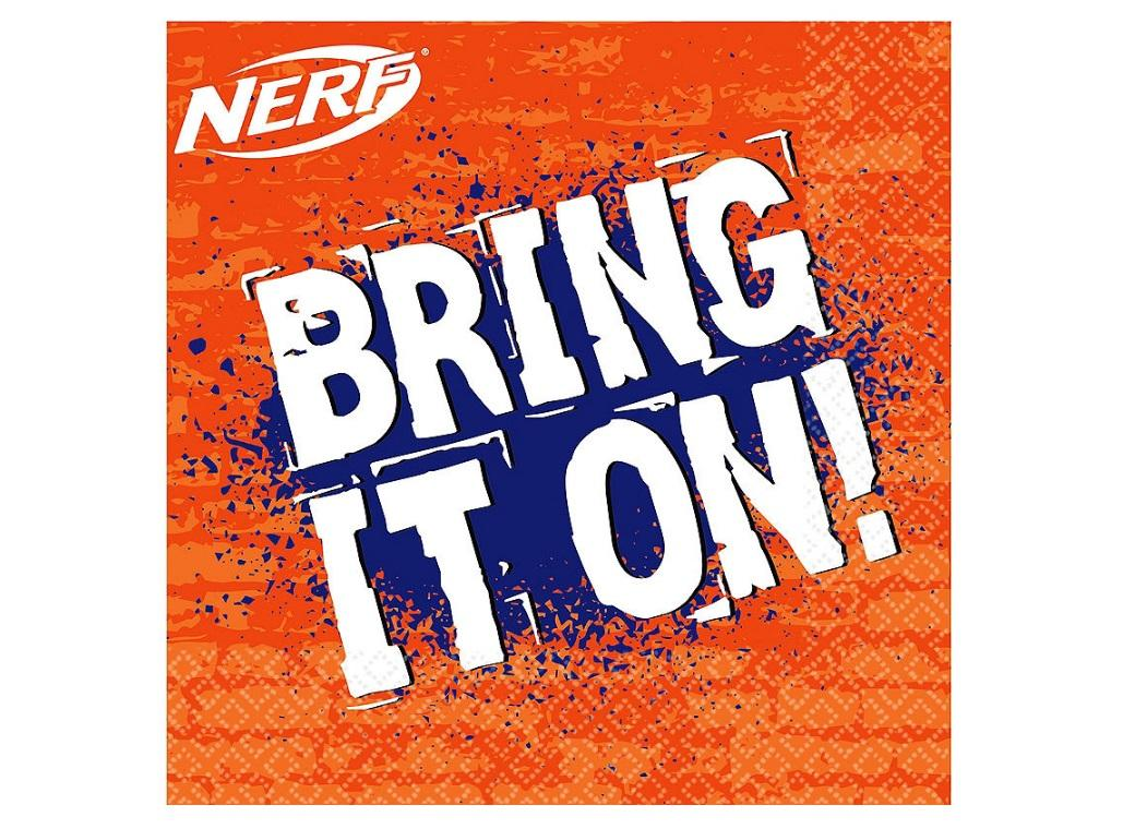 Nerf Lunch Napkins 16pk