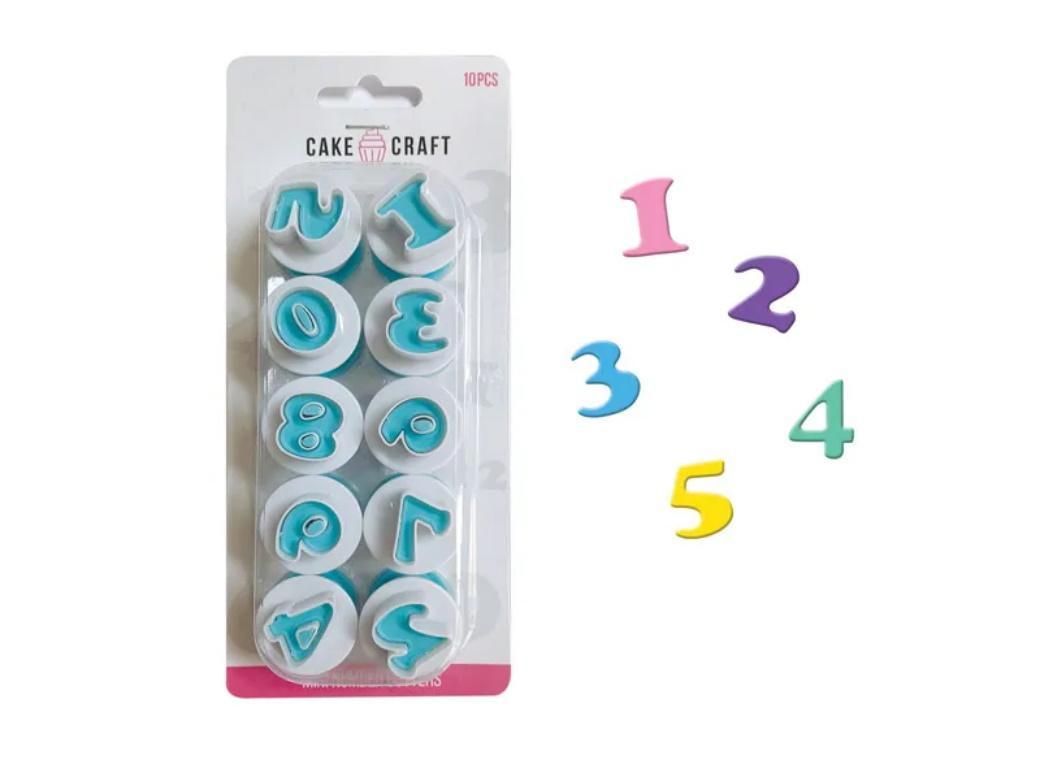 Mini Number Plunger Cutters