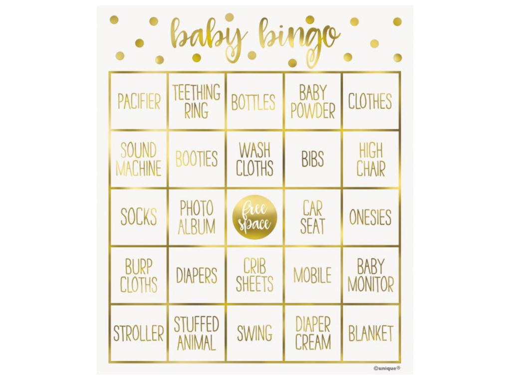 Oh Baby Bingo Game Kit