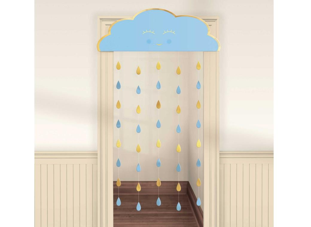 Oh Baby Boy Door Curtain