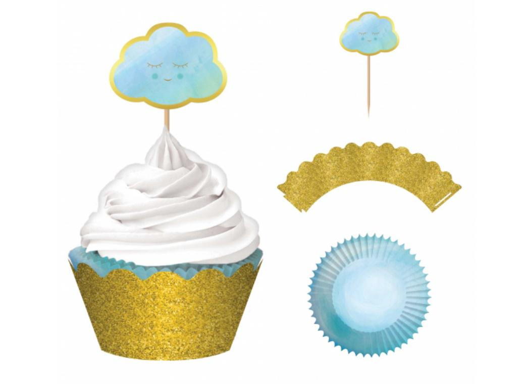 Oh Baby Boy Cupcake Kit