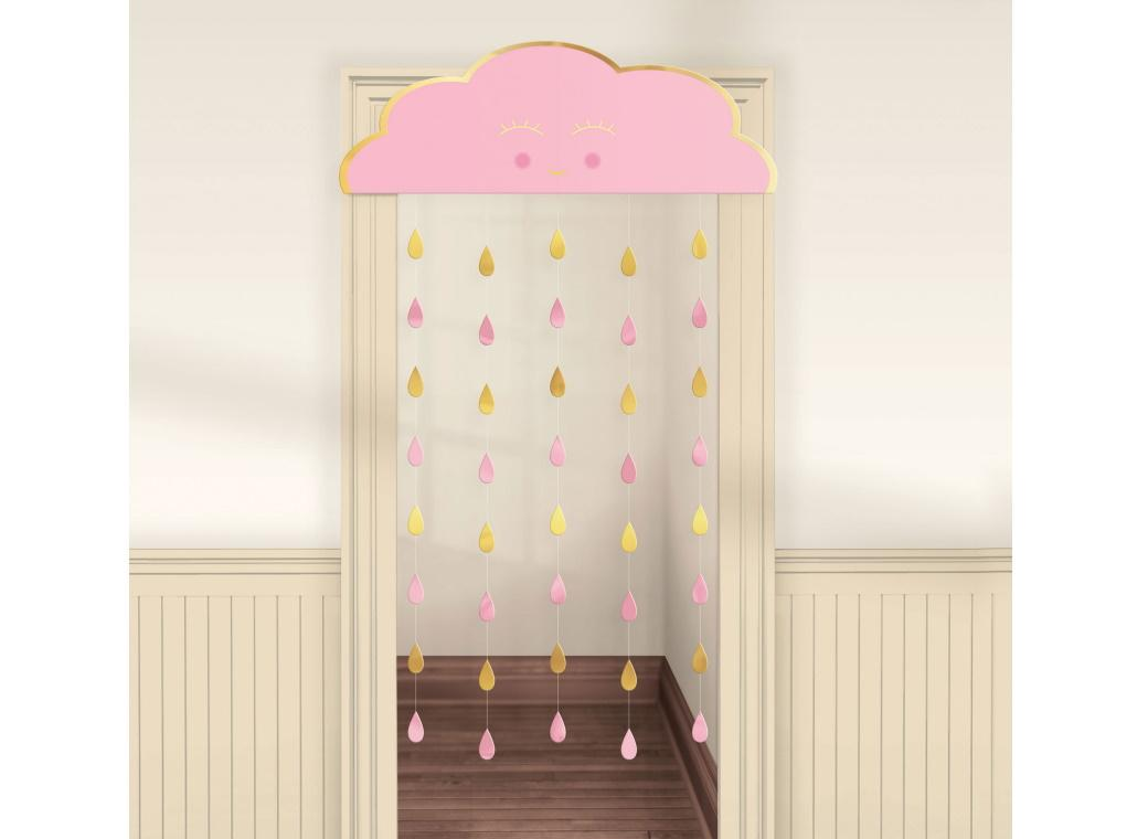 Oh Baby Girl Door Curtain