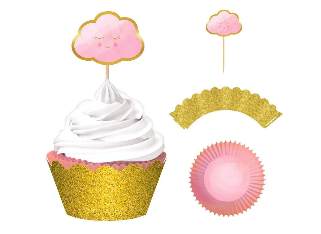 Oh Baby Girl Cupcake Kit