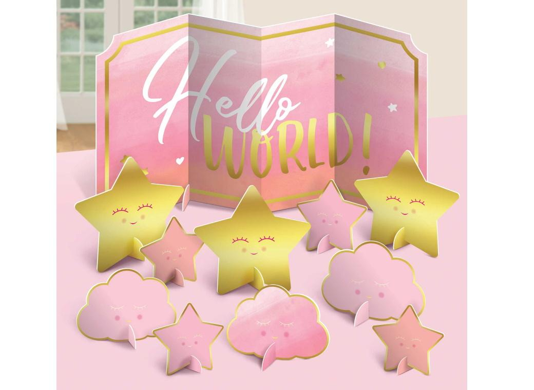Oh Baby Girl Table Decorating Kit