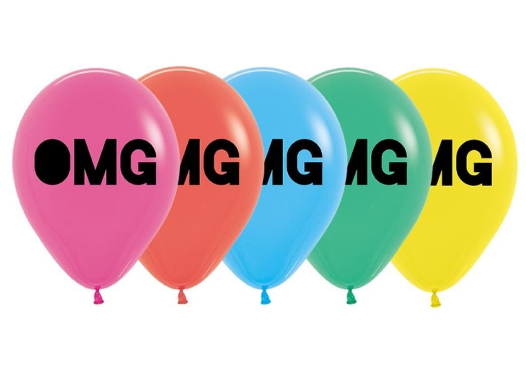 OMG Balloons 5pk