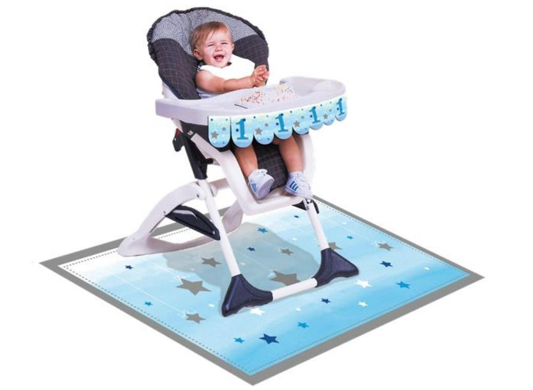One Little Star Boy 1st Birthday High Chair Kit
