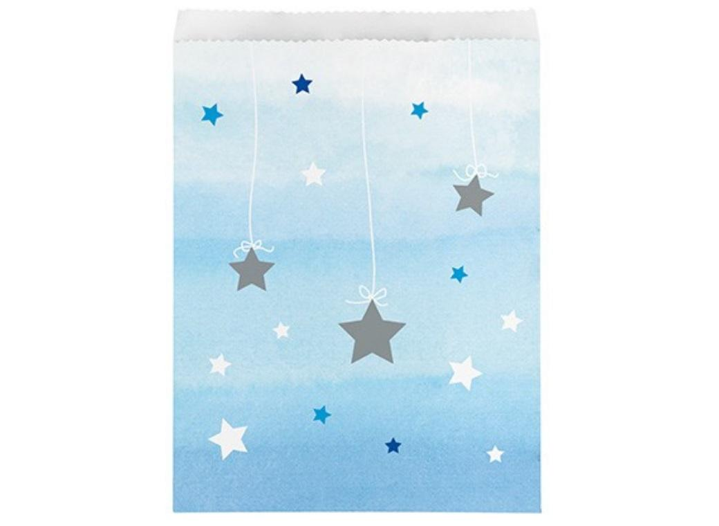 One Little Star Boy Treat Bags 10pk