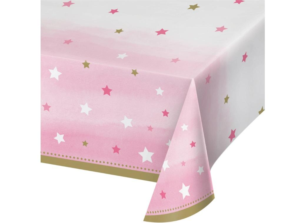 One Little Star Girl Tablecover