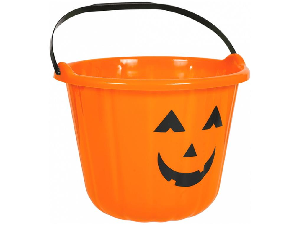 Jack-O-Lantern Treat Bucket