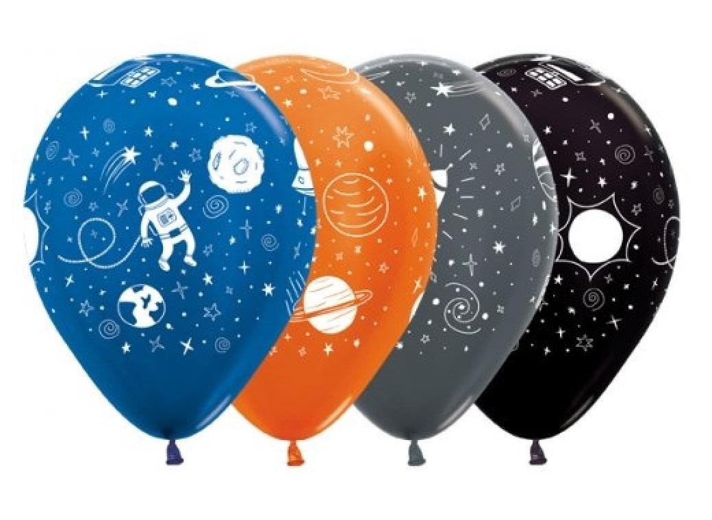 Outer Space Balloons 12pk
