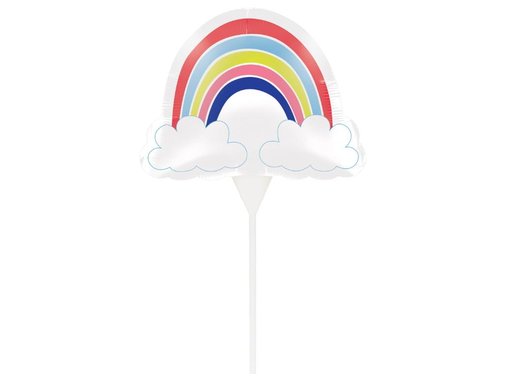 Over the Rainbow Balloon Cake Topper