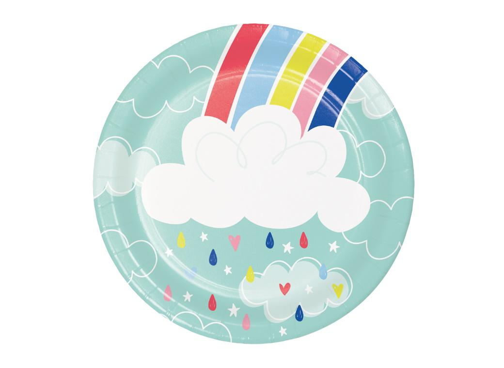 Over the Rainbow Lunch Plates 8pk