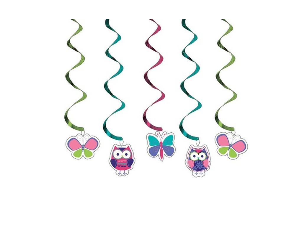 Owl Pal Birthday Assortment Dizzy Danglers