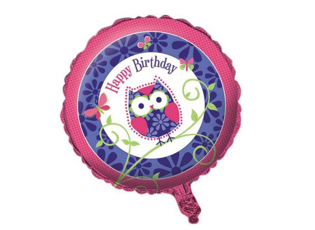 Owl Pal Foil Balloon