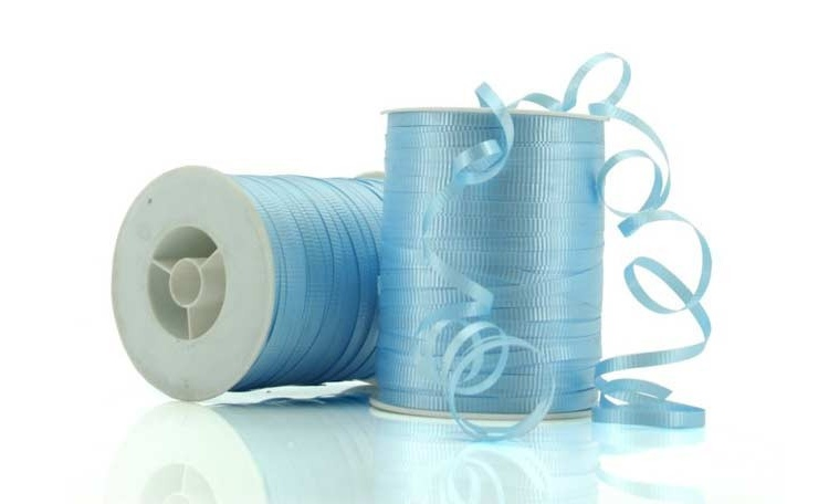 Curling Ribbon - Pale Blue 91m
