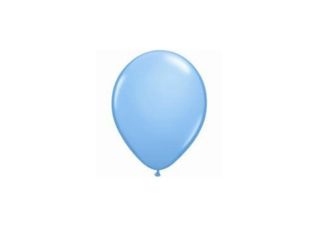 Pale Blue Balloons 5""