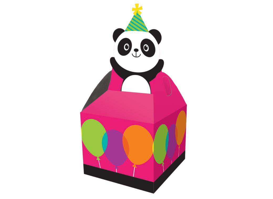 Panda-Monium Treat Boxes 8pk