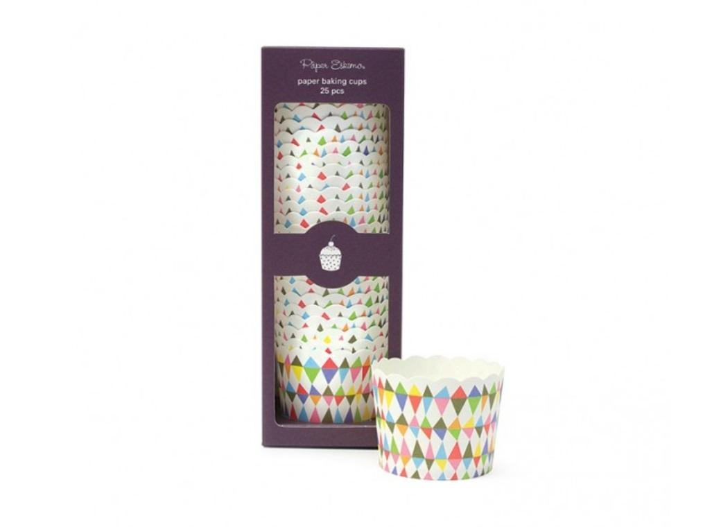 Paper Eskimo Baking Cups - Carnival Chaos