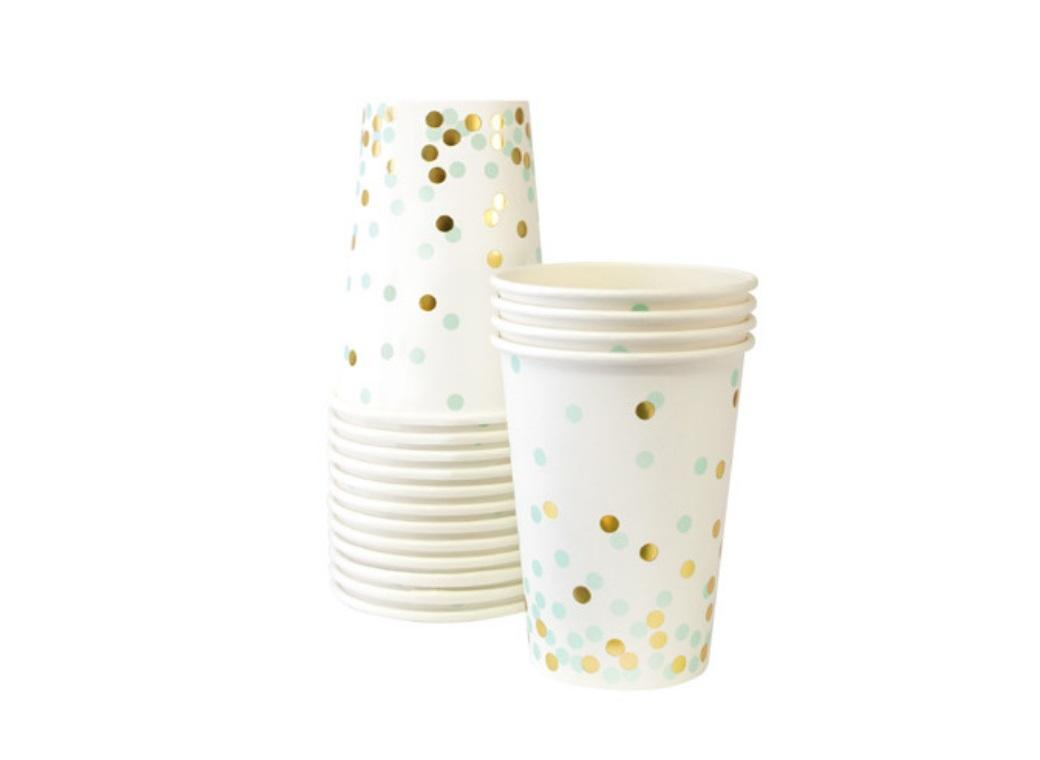 Paper Eskimo Paper Cups - Mint To Be