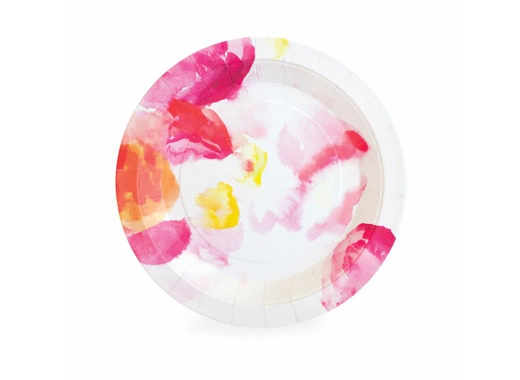 Paper Eskimo Dessert Plates - Floral Escape