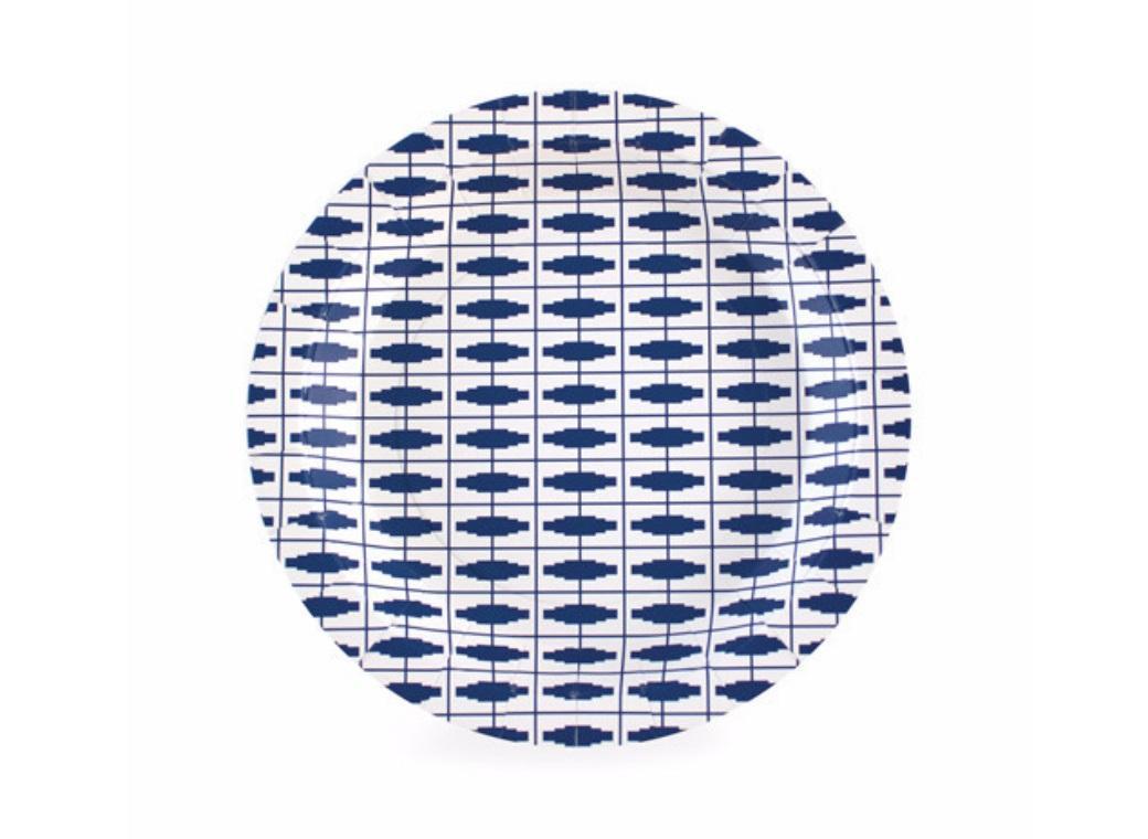 Paper Eskimo Dessert Plates - Naut So Navy