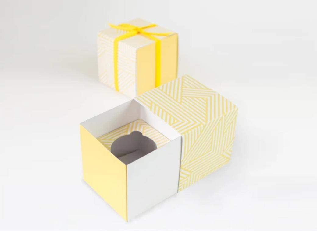 Paper Eskimo Gift Boxes 6pk - Hello Yellow