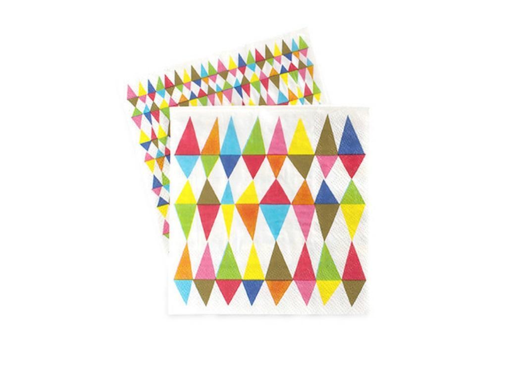 Paper Eskimo Napkins - Carnival Chaos