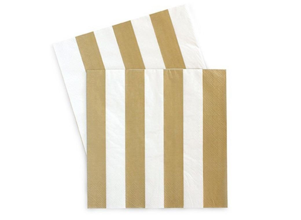 Paper Eskimo Napkins - Gold Crush