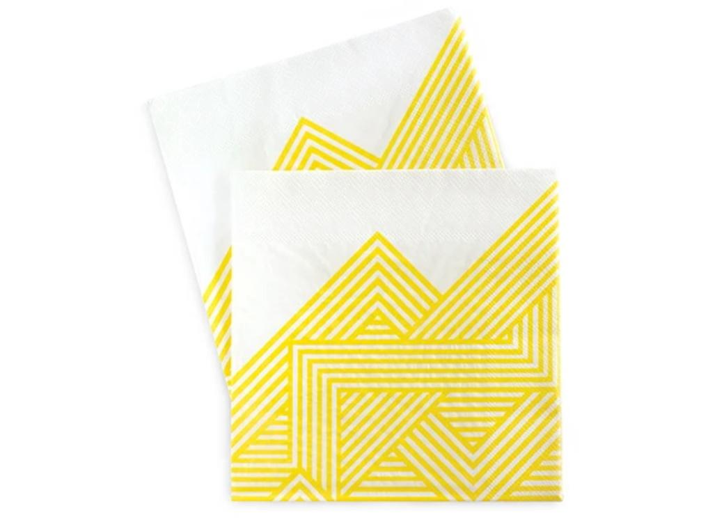 Paper Eskimo Lunch Napkins 20pk - Hello Yellow