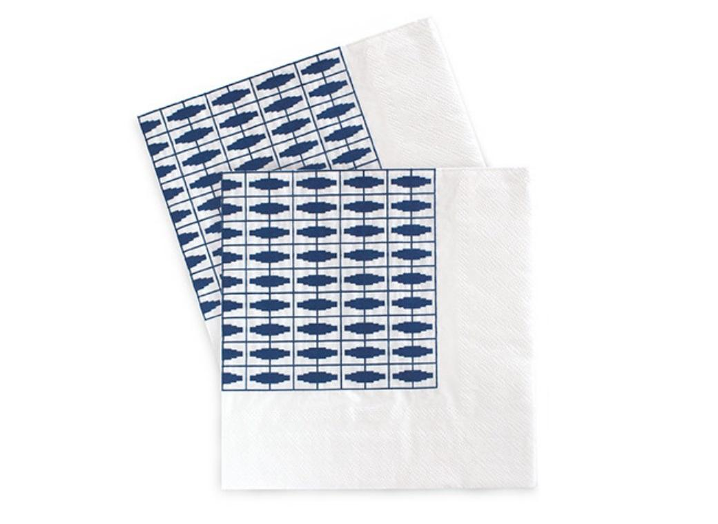 Paper Eskimo Napkins - Naut So Navy
