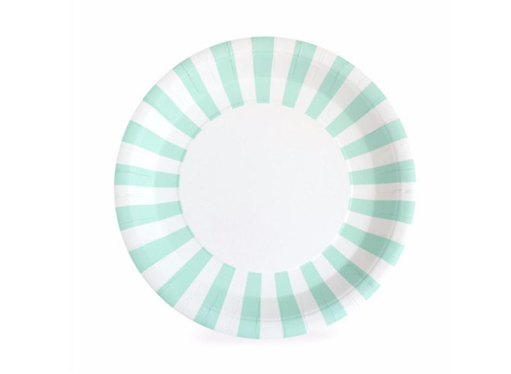 Paper Eskimo Paper Plates 12pk - Mint to Be
