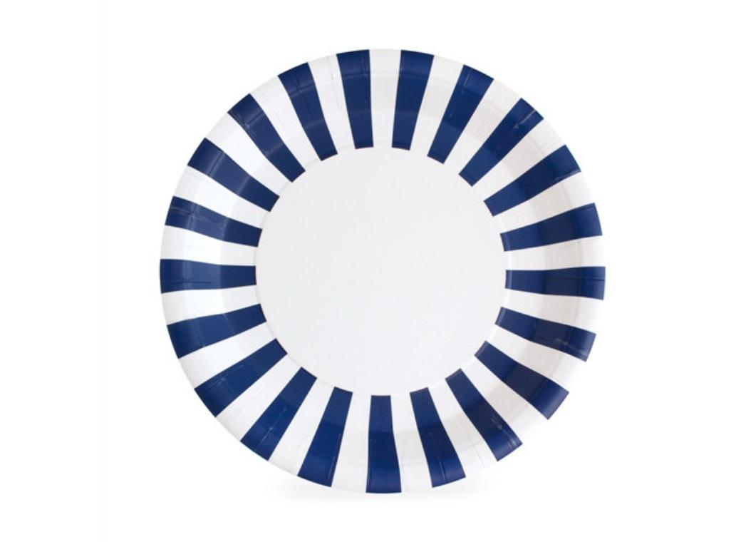 Paper Eskimo Paper Plates - Naut So Navy