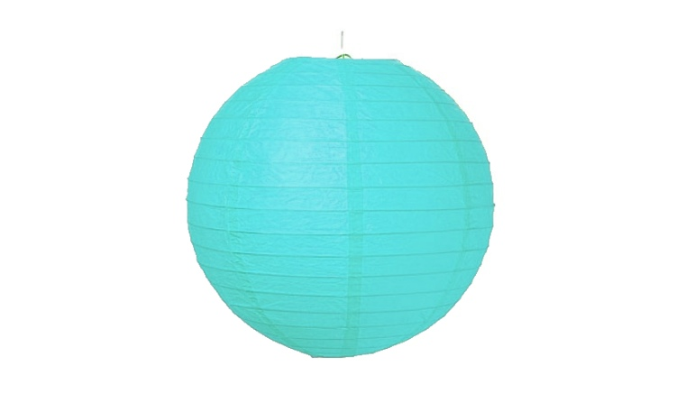 Paper Lantern Blue - 24.5cm