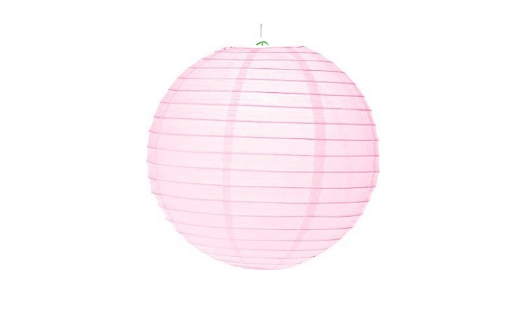 Paper Lantern Baby Pink - 24.5cm