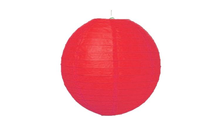 Paper Lantern Red - 24.5cm