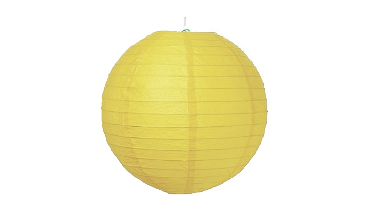 Paper Lantern Yellow - 24.5cm