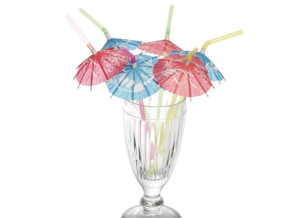 Parasol Straws - 6pk