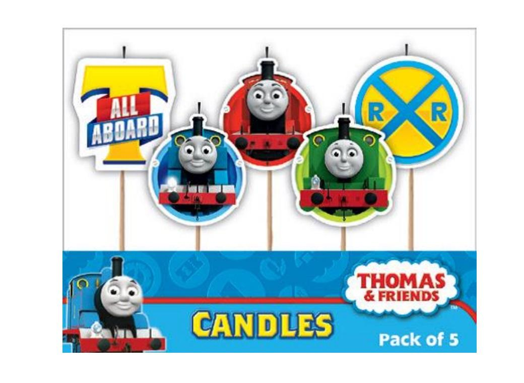 Party Candles - Thomas&Friends