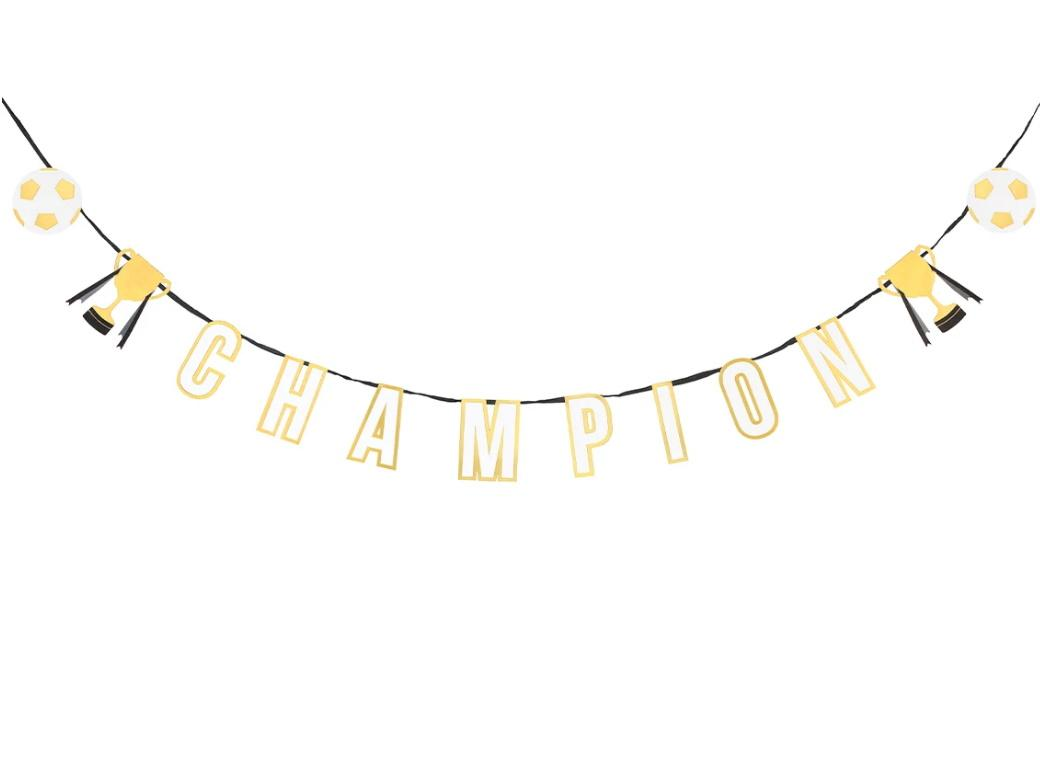 Party Champion Garland