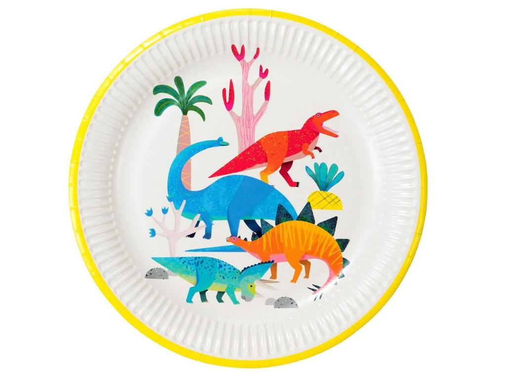 Party Dinosaurs Dinner Plates 8pk