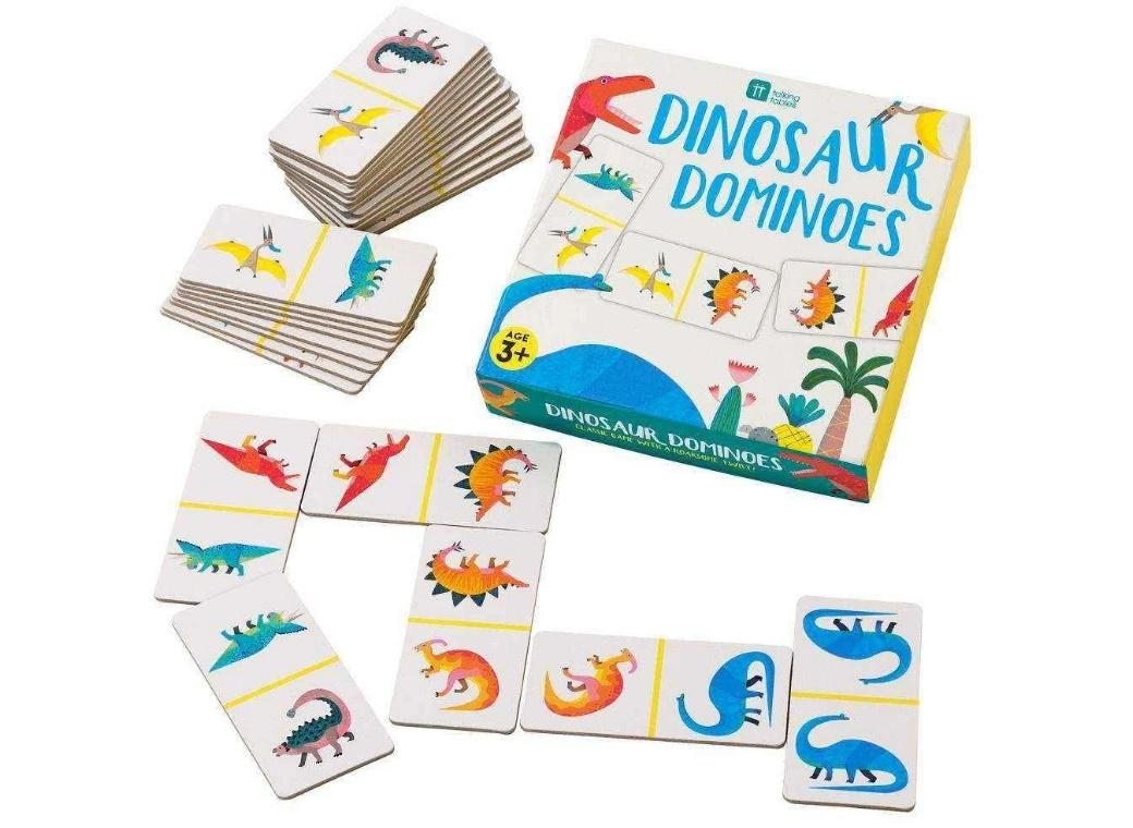 Party Dinosaurs Dominoes Game