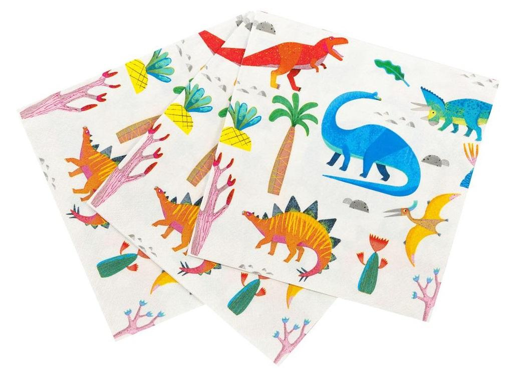 Party Dinosaurs Lunch Napkins 20pk