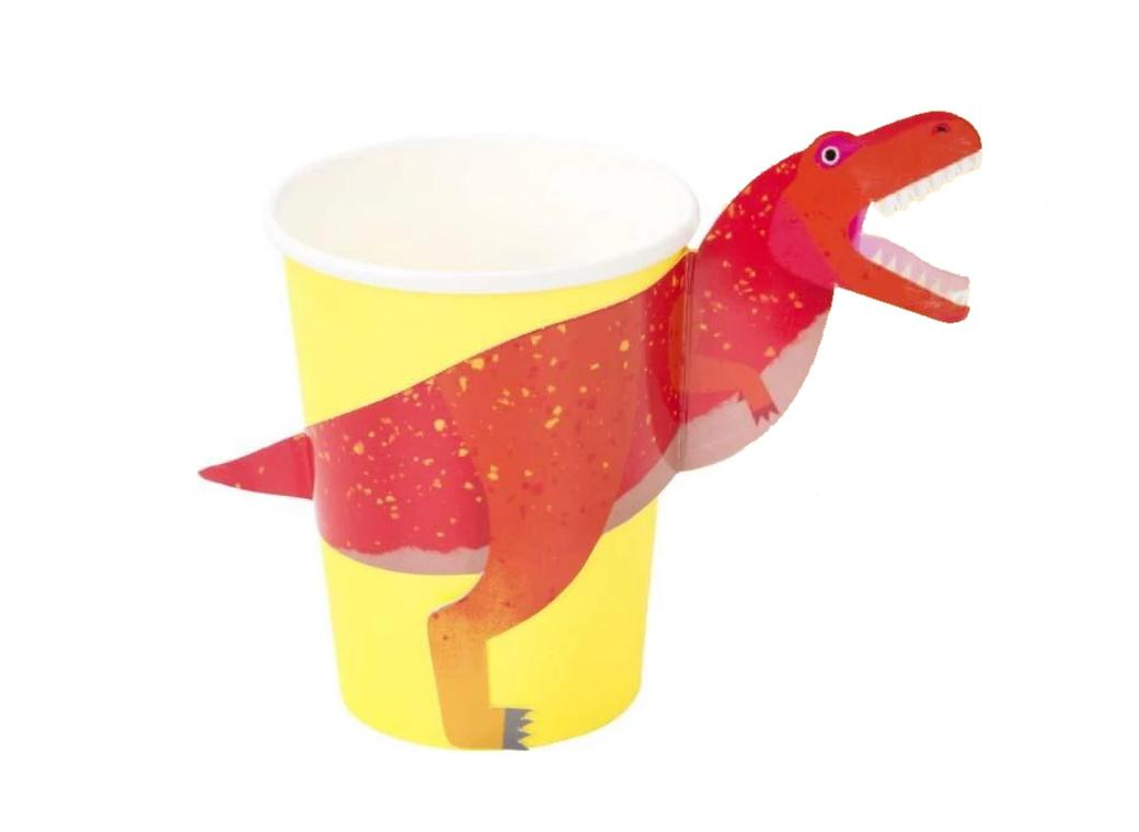Party Dinosaurs Cups 8pk