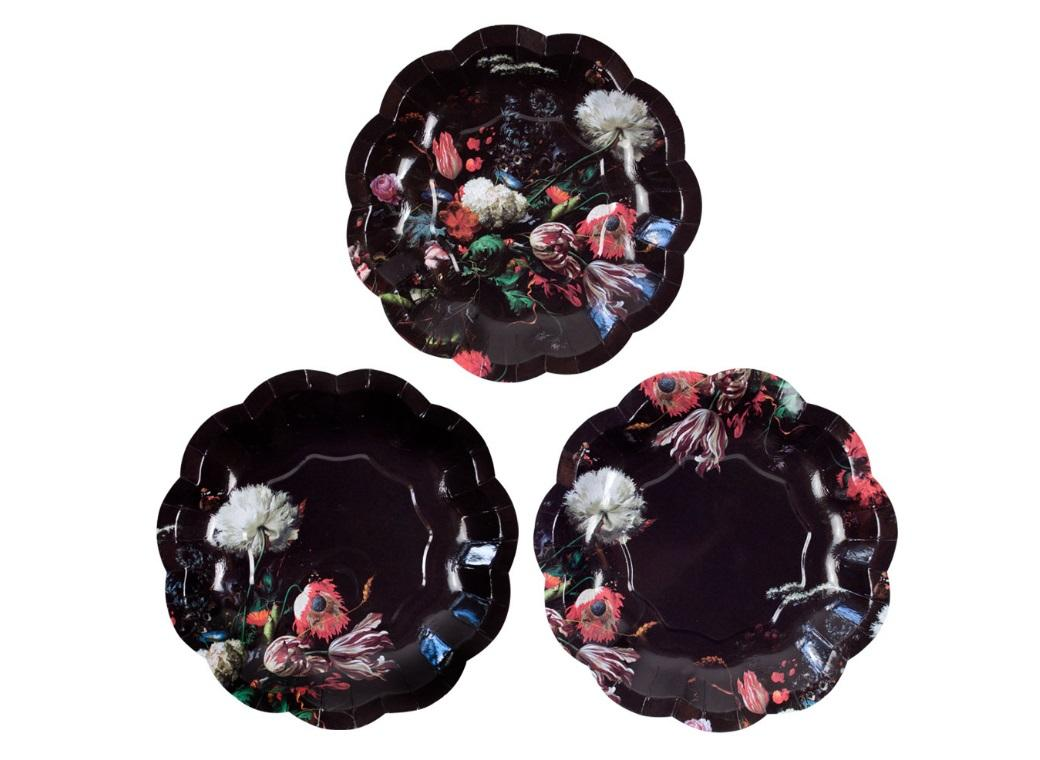 Party Porcelain Baroque Small Plates 12pk